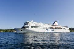 Cruise ferry Romantika, Stockholm Royalty Free Stock Photography