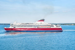 Cruise ferry Stock Image