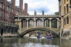 Cambridge, Cambridgeshire,  England. Stock Images