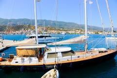 Cruise - Greece island Stock Image