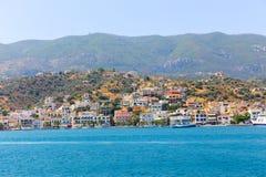 Cruise - Greece island Stock Photos