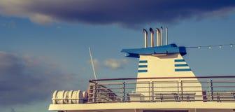Cruise on holidays Royalty Free Stock Images