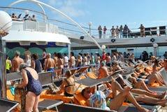 Cruise holidays Royalty Free Stock Photography