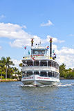 Cruise with jungle queen riverboat Stock Photo
