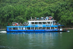 Cruise on li river,china Stock Images