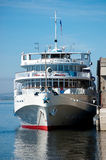 Cruise liner. Photo of river cruise liner. Russia, Volgograd Stock Image