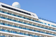 Cruise liner. Passenger suites and cabins royalty free stock photo