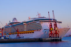 Cruise liner stock images