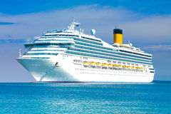 Cruise liner Royalty Free Stock Photography