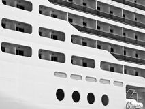 Cruise Liner Abstract Stock Image