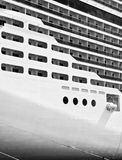 Cruise Liner Abstract Stock Photo