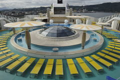 Cruise Liner AIDALuna, Wellness Area Stock Image