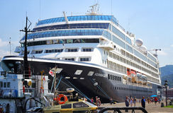 Cruise Liner Azamara Quest Stock Image