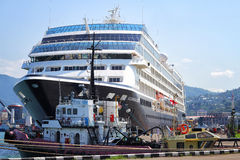 Cruise Liner Azamara Quest Stock Images