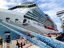 Cruise liner Celebrity Reflection Royalty Free Stock Photos