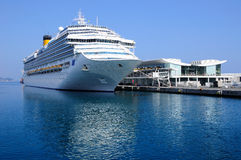 Cruise liner. Stock Image