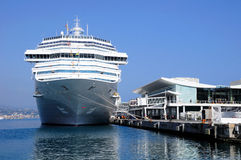 Cruise liner. Royalty Free Stock Photo