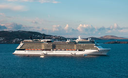 Cruise liner - Luxury vacation on the islands Royalty Free Stock Photography