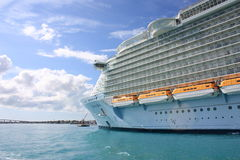 Cruise liner Oasis of the Seas Stock Photos