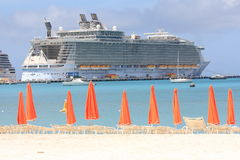 Cruise liner Oasis of the Seas Stock Photo