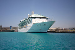 Cruise liner in port Stock Photos