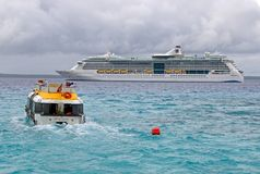 Cruise Liner RADIANCE OF THE SEAS Royalty Free Stock Photography