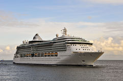Cruise liner SERENADE OF THE SEAS in the Baltic sea Royalty Free Stock Photo