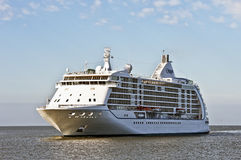 Cruise liner SEVEN SEAS VOYAGER in the Baltic sea Stock Photo
