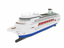 Cruise liner ship Stock Images