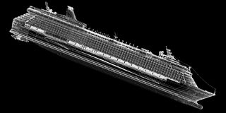 Cruise liner Royalty Free Stock Image