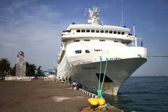 Cruise Liner Royalty Free Stock Photo