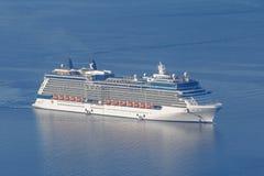 Cruise linerin sea Stock Photos