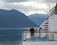Cruise met Vrienden Stock Afbeeldingen