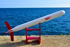 Cruise Missile in the Caribbean Stock Photography