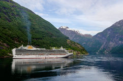 Cruise Moored Royalty Free Stock Photography