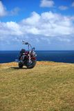 Cruise motorcycle Stock Images
