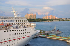 Cruise at Nassau The Bahamas Stock Images