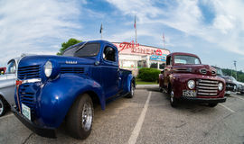 Cruise Night at the Tilt'n Diner Stock Photography
