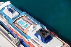 Cruise op het Middellandse-Zeegebied stock afbeelding