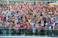 Cruise party Royalty Free Stock Photo