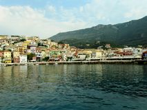 Gulf of Parga, Greece. Cruise Paxi-Antipaxi in the Ionian Sea, Greece Stock Photography