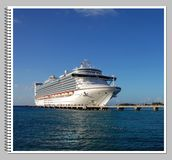 Cruise photo album Stock Photography