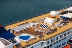 Cruise Pool Royalty Free Stock Photography