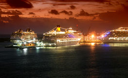Cruise port Royalty Free Stock Photography