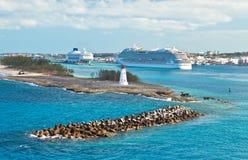 Cruise Port Stock Image