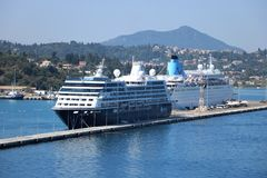 Cruise port Royalty Free Stock Photos