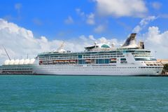 Cruise port of Miami Stock Photography