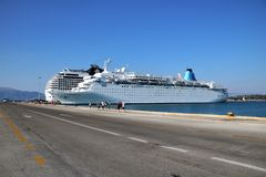 Cruise port Stock Photography