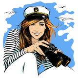 Cruise royalty free illustration