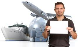 Cruise promo Stock Images